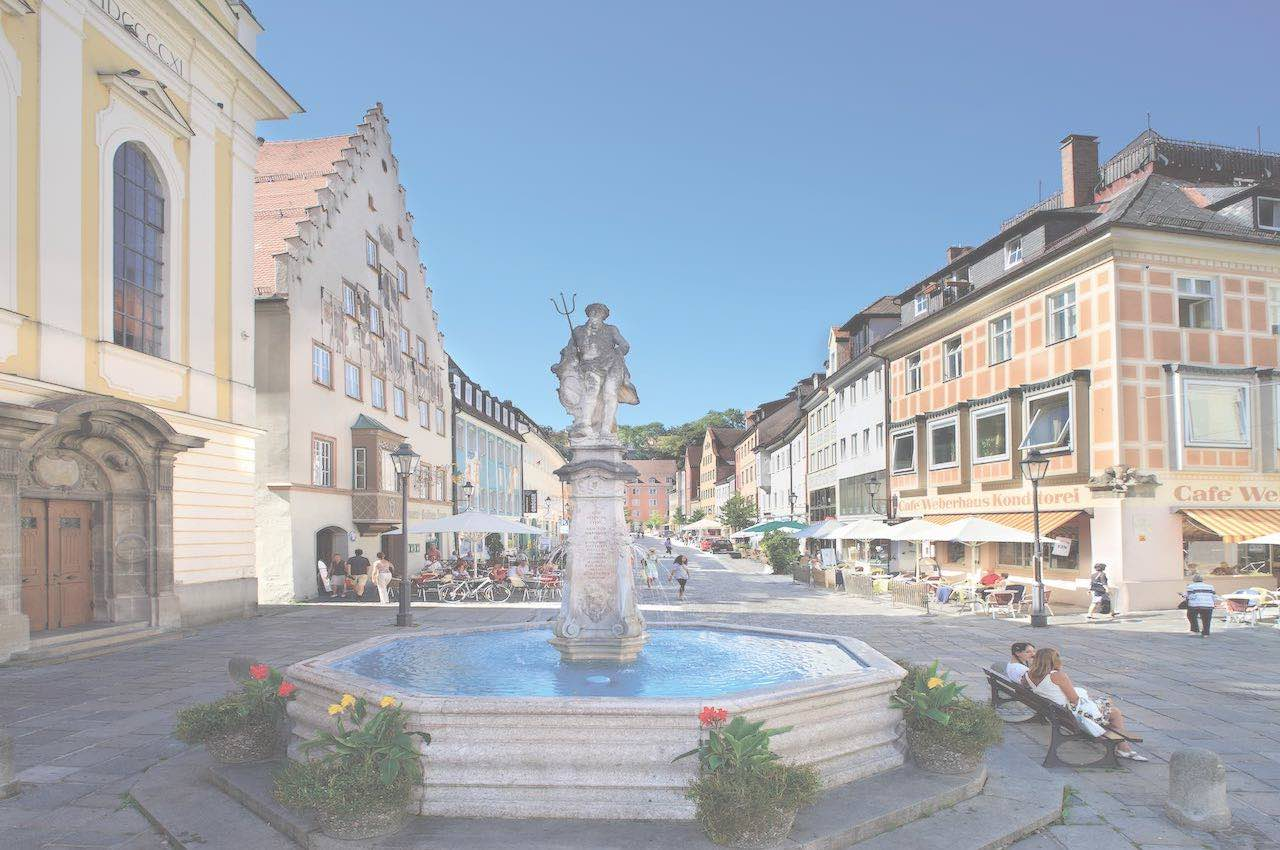 Fountain in Kaufbeuren
